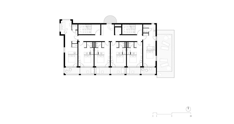 Piano 1 - Camere noa* network of architecture}
