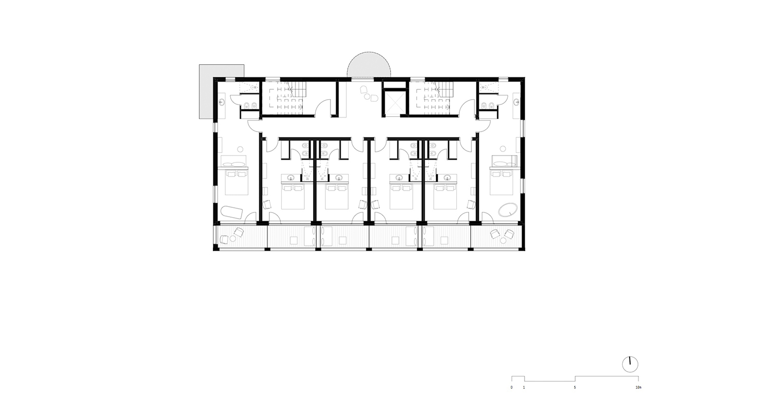 Piano 2 - Camere noa* network of architecture}