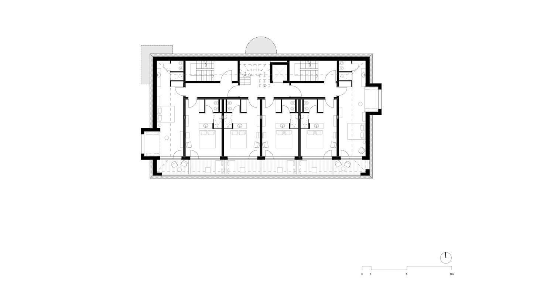 Piano 3 - Camere noa* network of architecture}