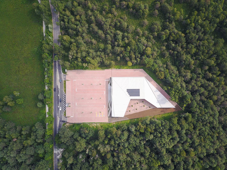 Drone zenital view Nicolò Galeazzi / Atelier XYZ