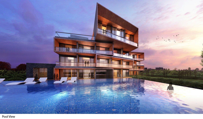 Pool View Sanjay Puri Architects}