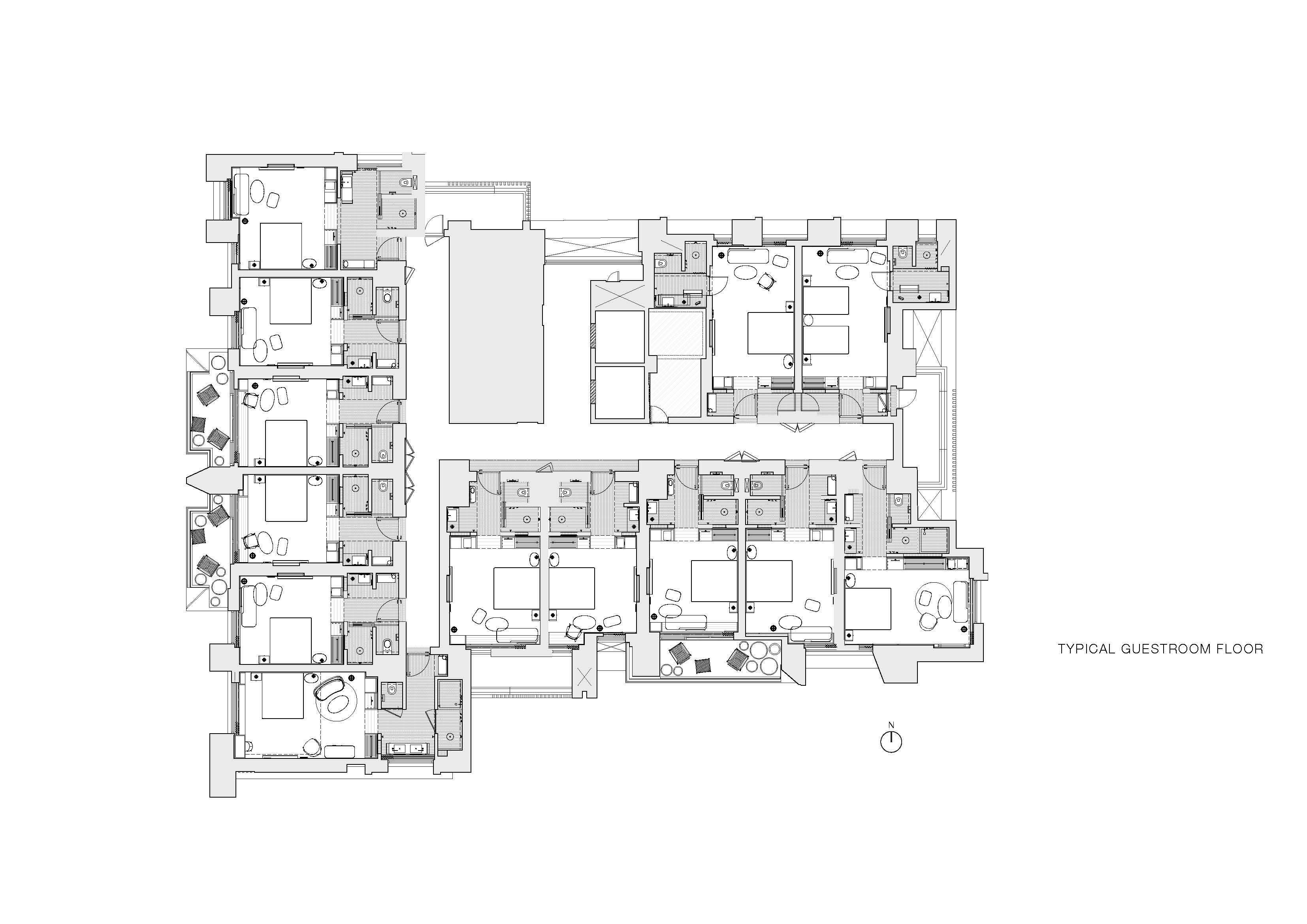 Kimpton Da An Hotel  Drawings Neri&Hu Design and Research Office}