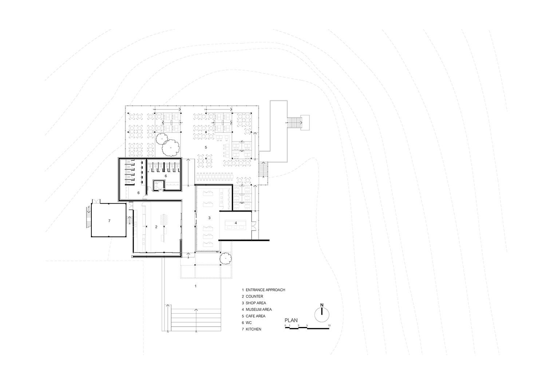 The floor plan IDIN Architects}
