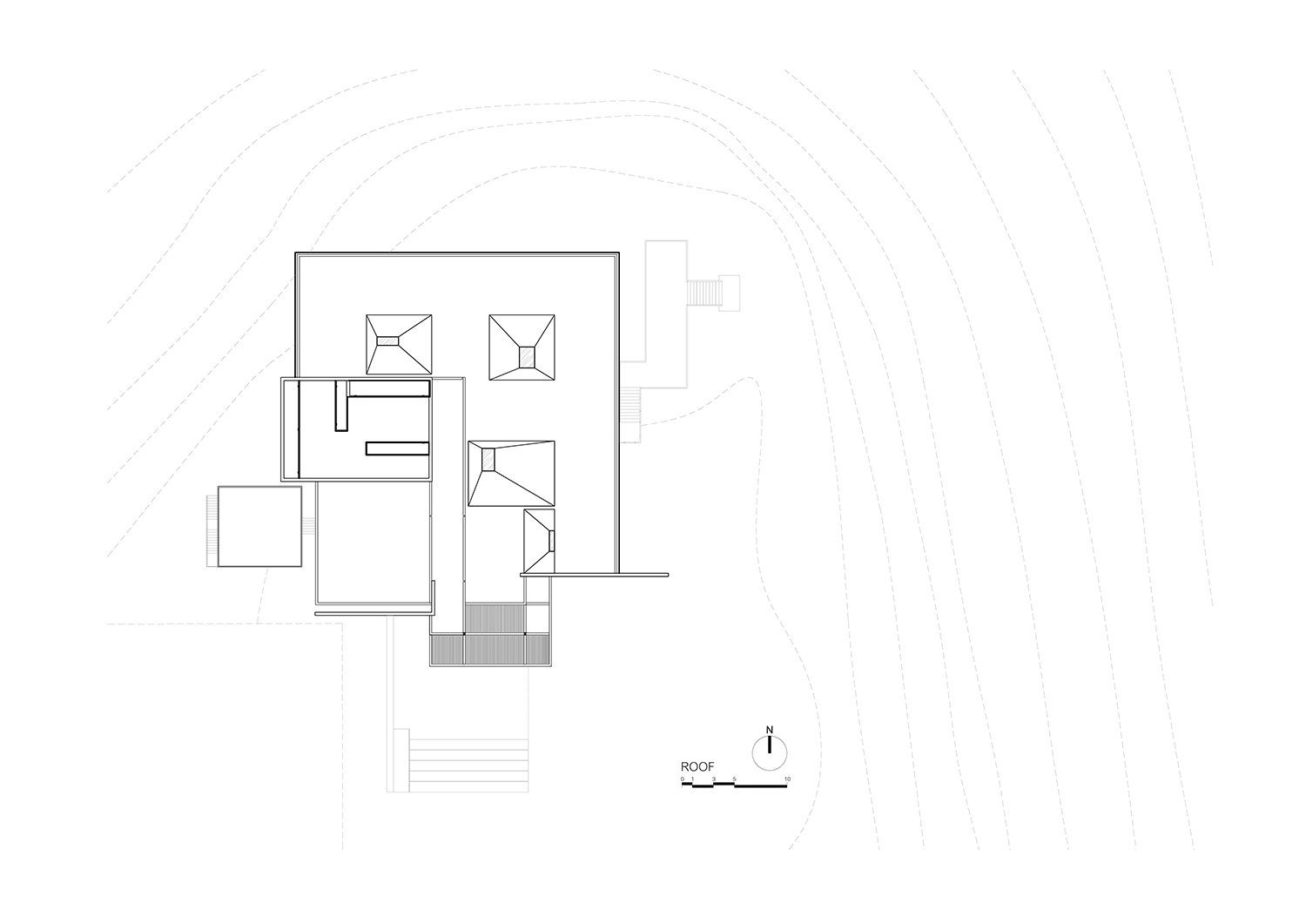 The roof plan IDIN Architects}