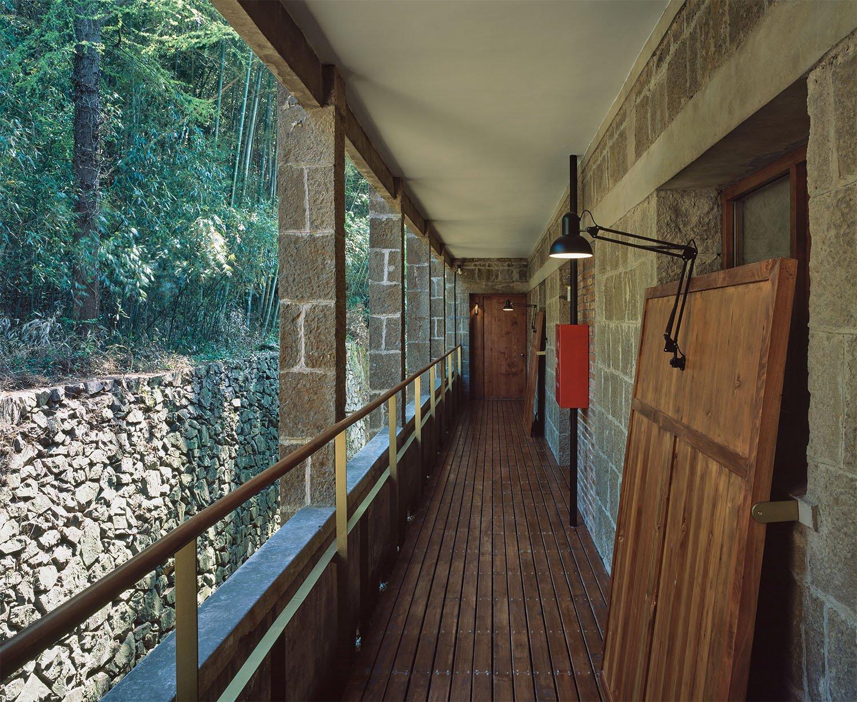 Corridor of the Hotel Hao Chen