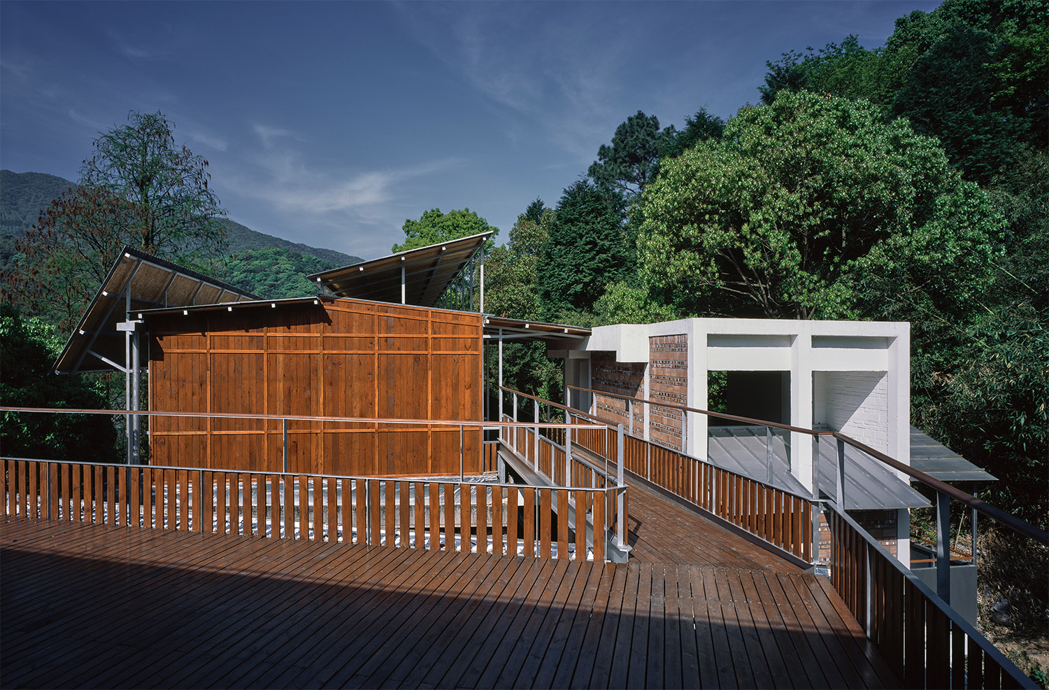 View of the Rooftop Canteen from the Main Building Hao Chen