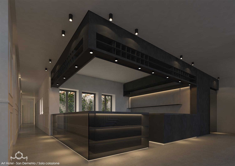 SALA COLAZIONE MODUSLAB ARCHITECTURE&INTERIOR DESIGN