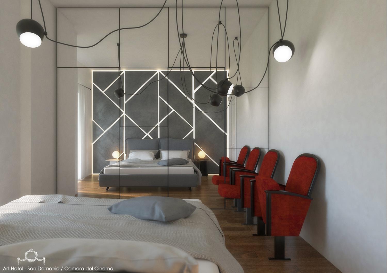 CAMERA DEL CINEMA MODUSLAB ARCHITECTURE&INTERIOR DESIGN