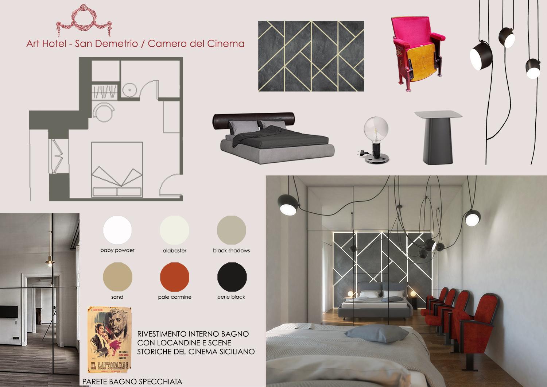 MOODBOARD CAMERA DEL CINEMA MODUSLAB ARCHITECTURE&INTERIOR DESIGN}