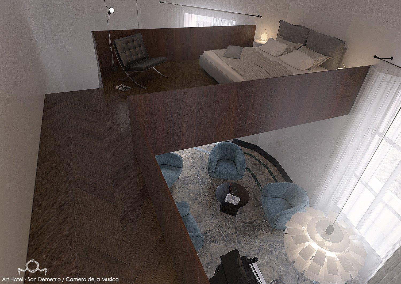 CAMERA DELLA MUSICA/ROOM MODUSLAB ARCHITECTURE&INTERIOR DESIGN