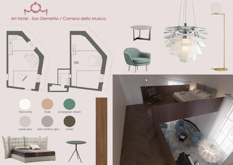 MOODBOARD CAMERA DELLA MUSICA MODUSLAB ARCHITECTURE&INTERIOR DESIGN}