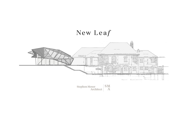New Leaf Restaurant, Pavilion & Plaza SMA | Stephen Moser Architect - Design Team}