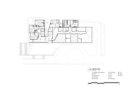 Facilities building_Ground floor plan Vaslab}