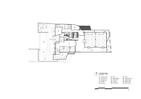 Facilities building_2nd floor plan Vaslab}