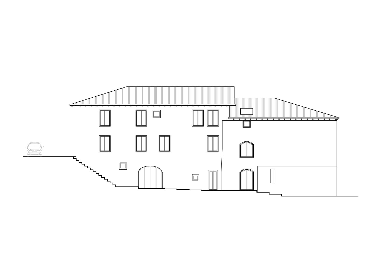 South-east Elevation deamicisarchitetti}