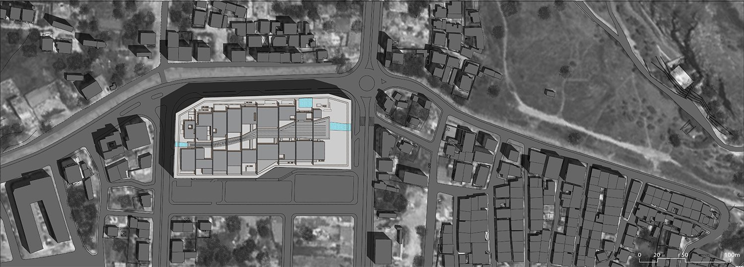 The Site Plan EAA- Emre Arolat Architecture}