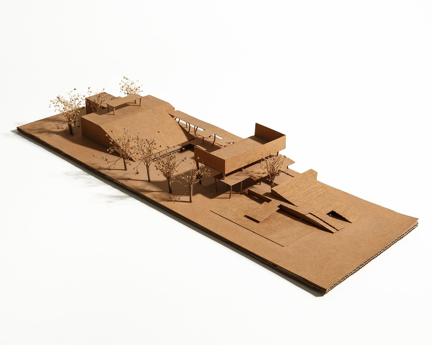 1:200 scale craft paper model MGA}