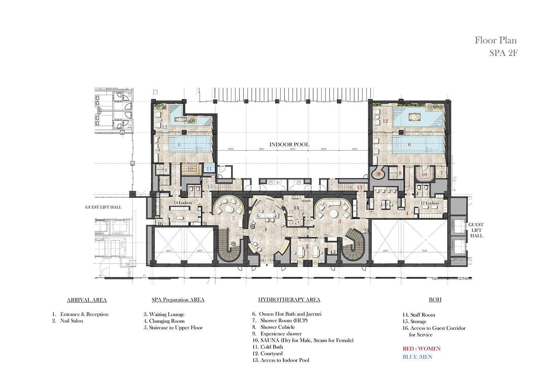 Lower Floor Plan NIKKEN SPACE DESIGN LTD}