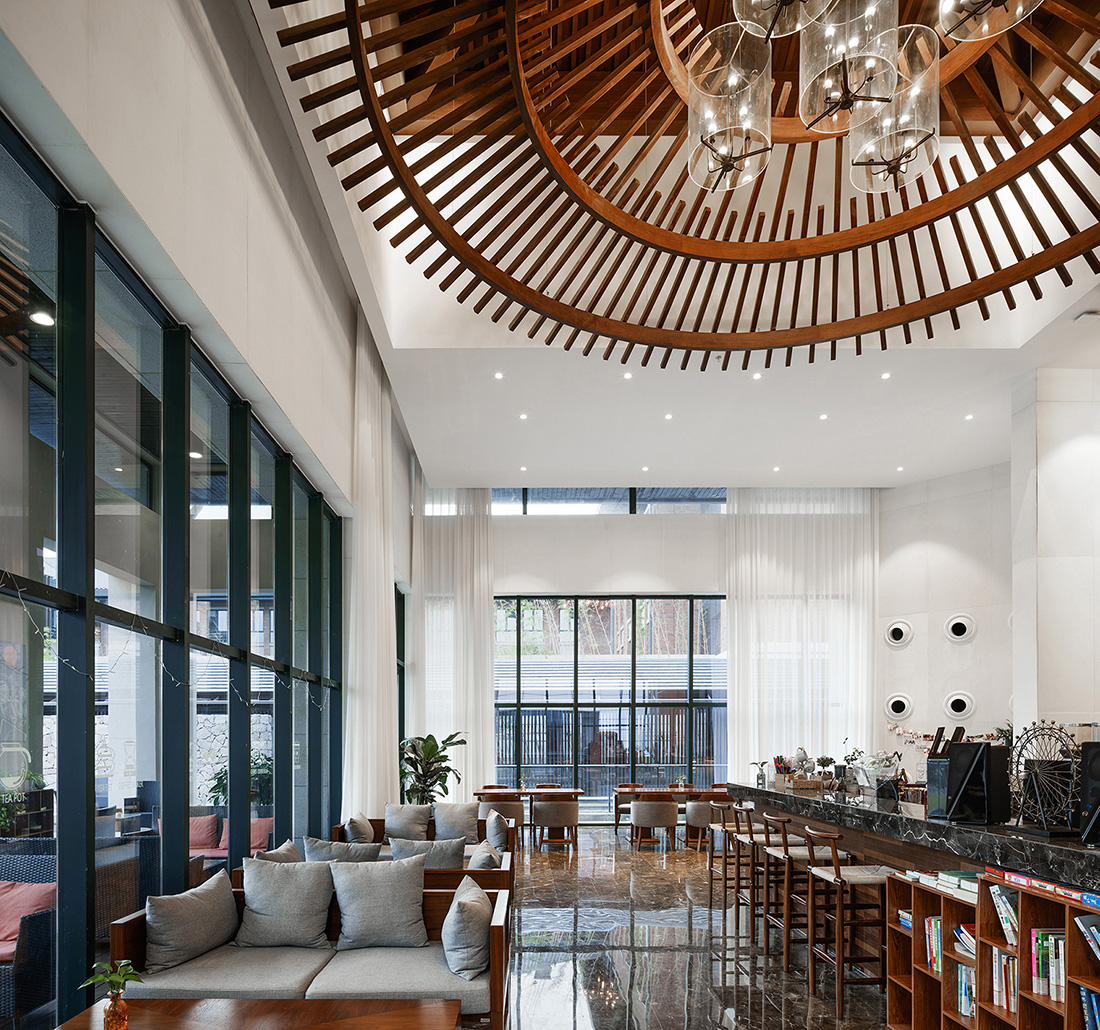 Interior space of the Lobby © Zhao Qiang