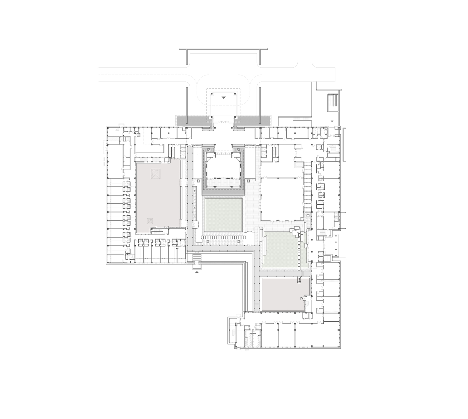 1st Floor Plan The Architectural Design & Research Institute of Zhejiang University}