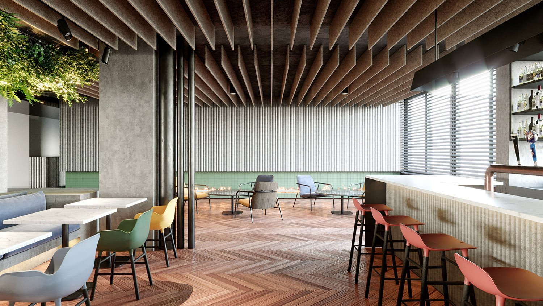 Il bar Carlo Berarducci Architecture
