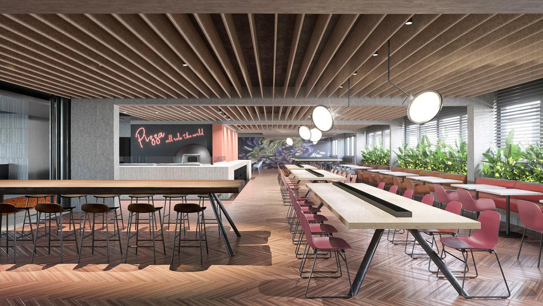 Vista del ristorante Carlo Berarducci Architecture