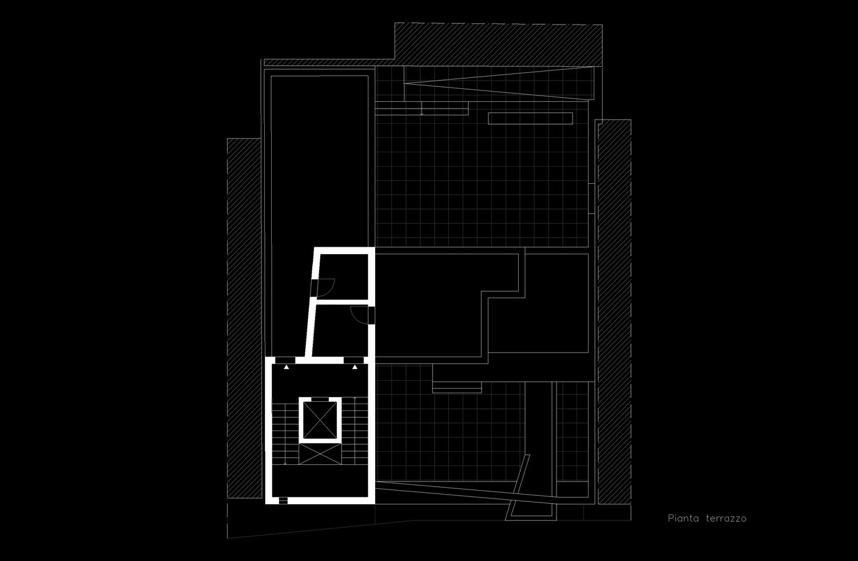 Pianta piano terzo Giuseppe Todaro Architect}