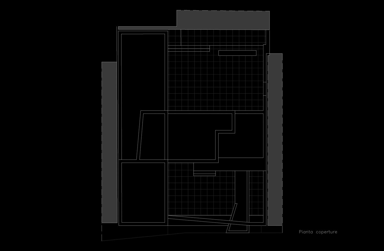 Pianta piano coperture Giuseppe Todaro Architect}