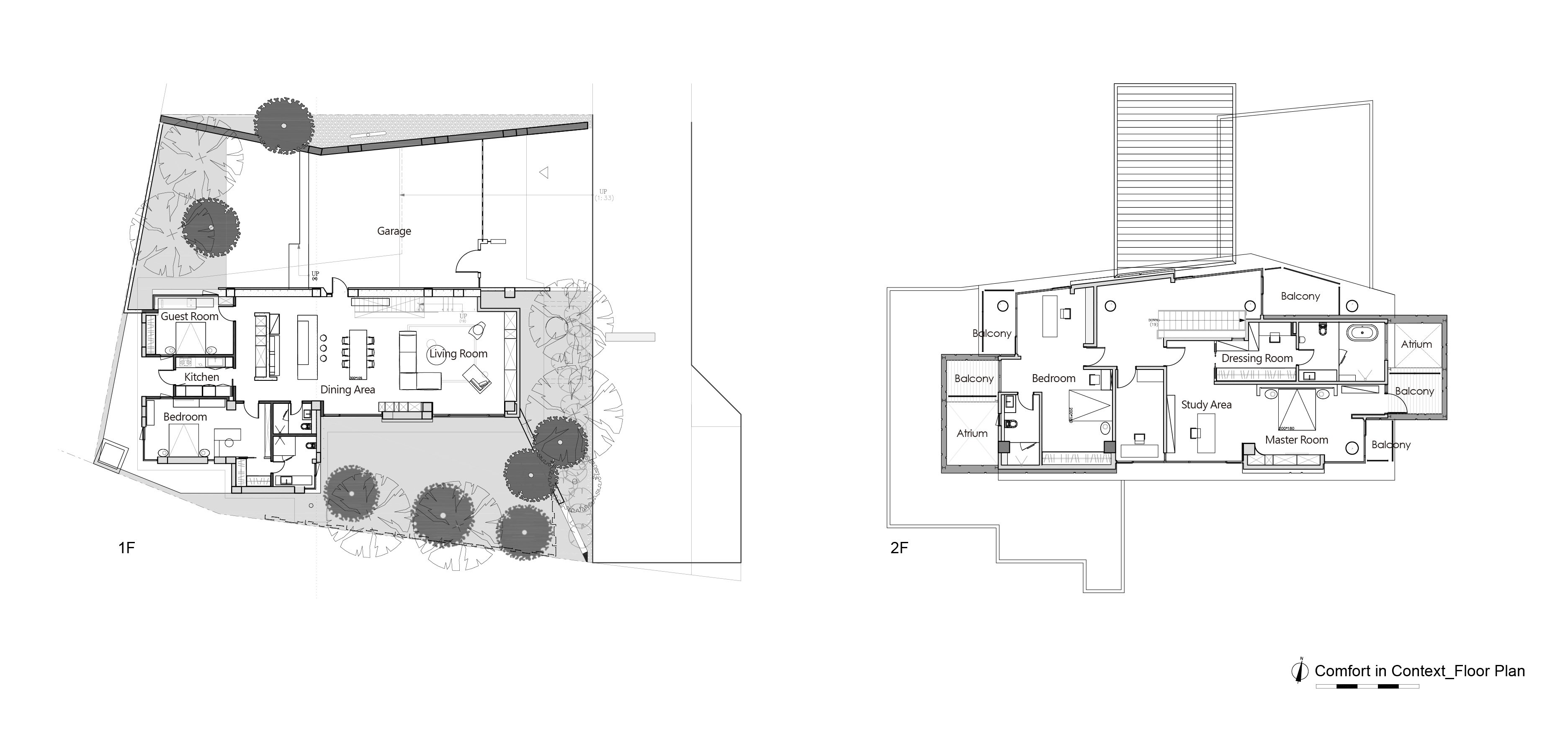 Comfort in Context_Floor Plans Chain10 Architecture & Interior Design Institute}