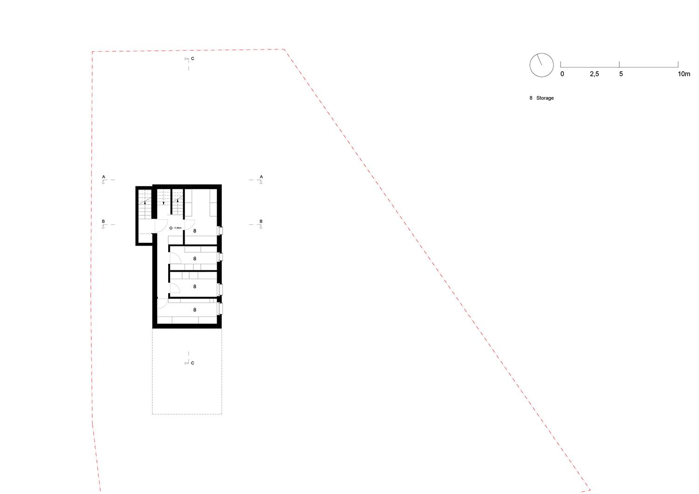 Floorplan floor -1 Plasma Studio}