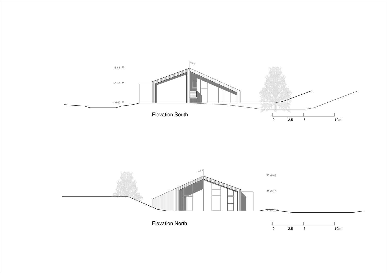 Elevations North - South Plasma Studio}