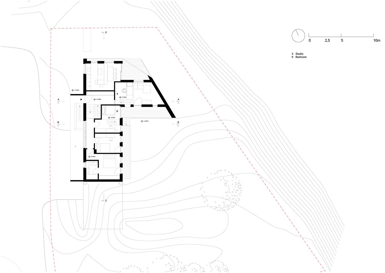 Floorplan floor +1 Plasma Studio}