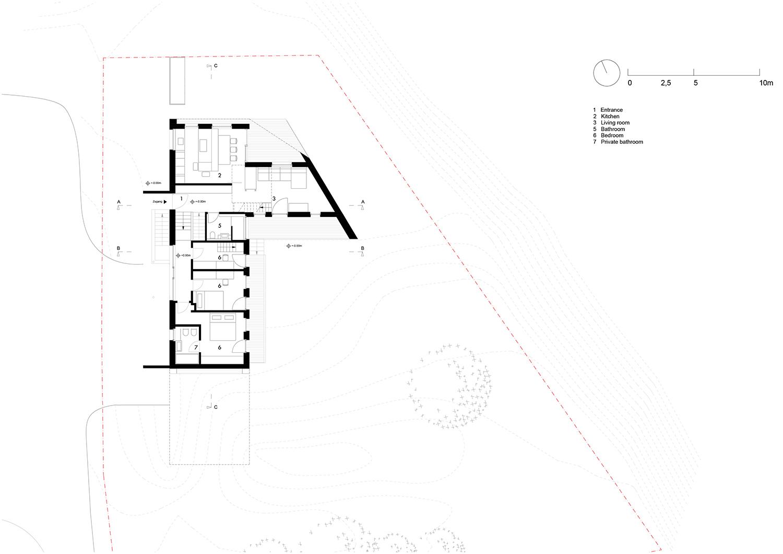 Floorplan groundfloor Plasma Studio}