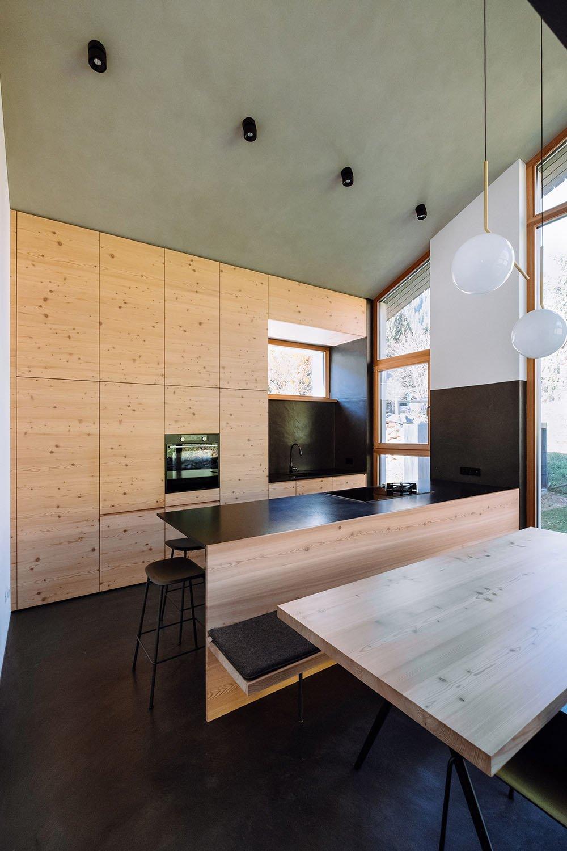 View of the kitchen 1 Michael Pezzei