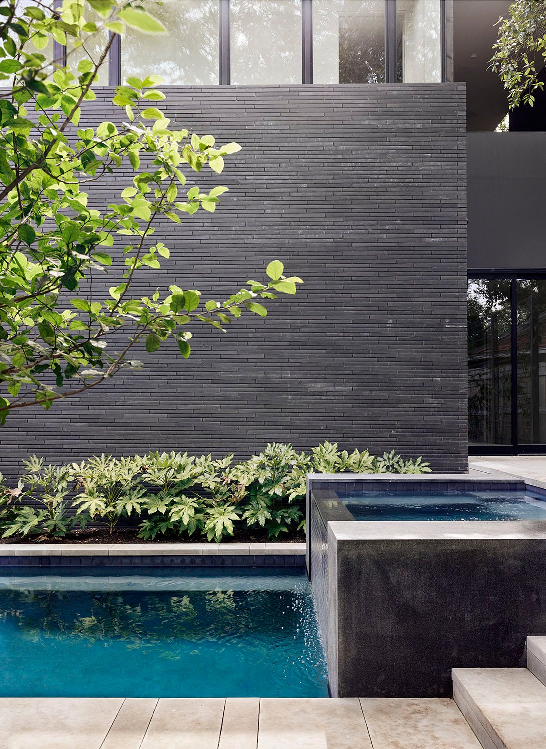 Detail of Pool Photo by Casey Dunn}