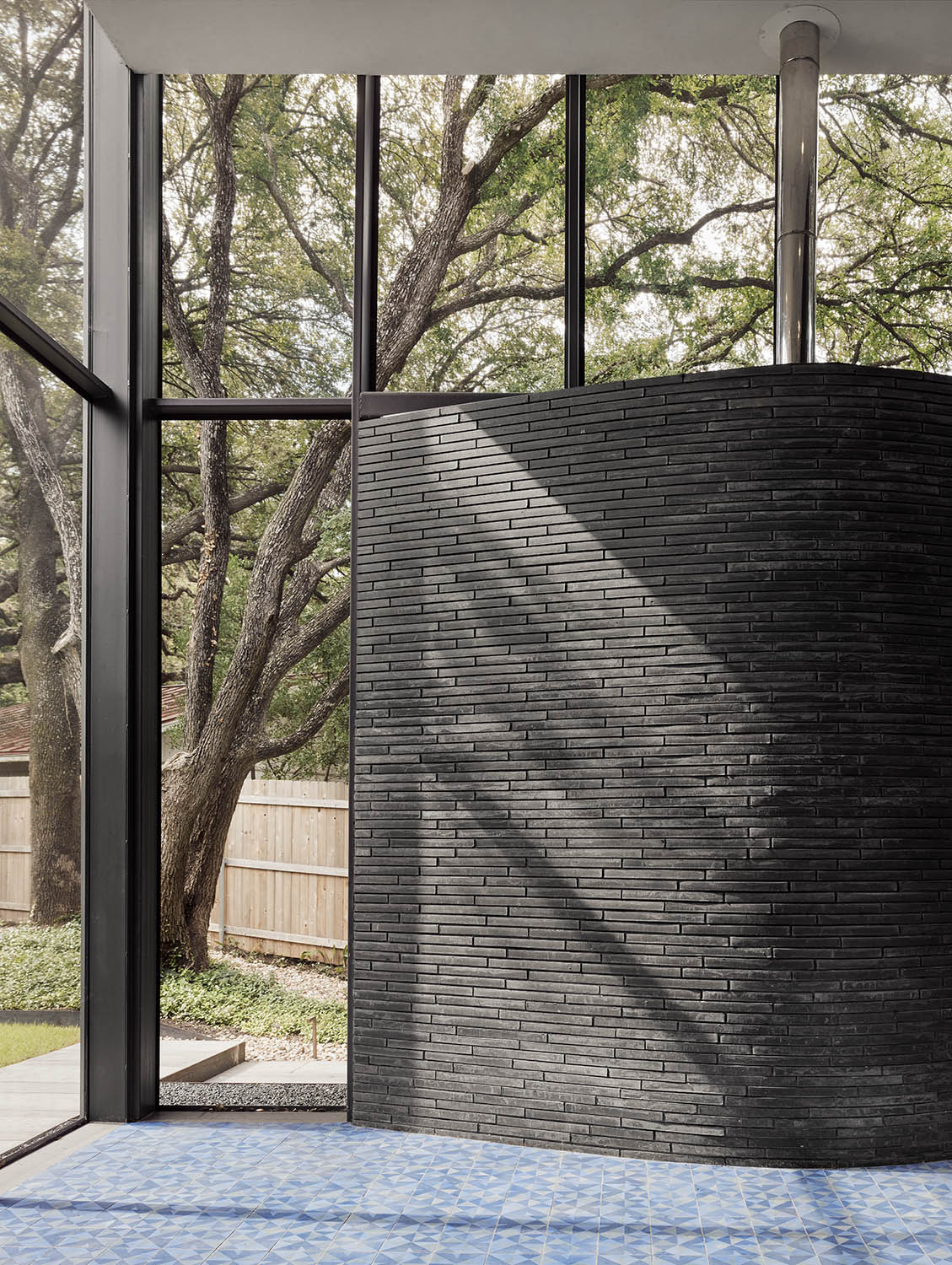 Detail of Curved Brick Photo by Casey Dunn}