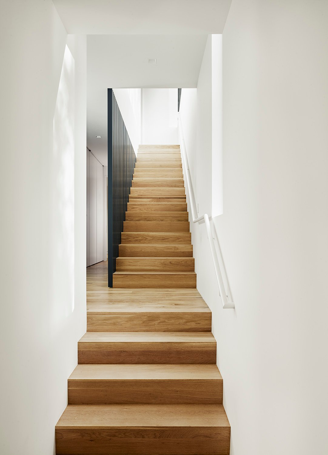 Interior Stair Detail Photo by Casey Dunn}