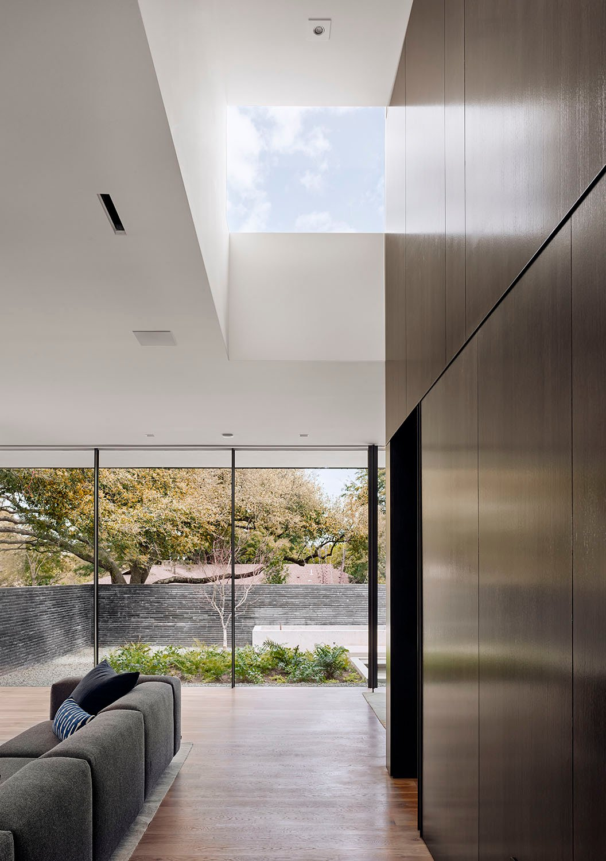 Interior Living Skylight Photo by Casey Dunn
