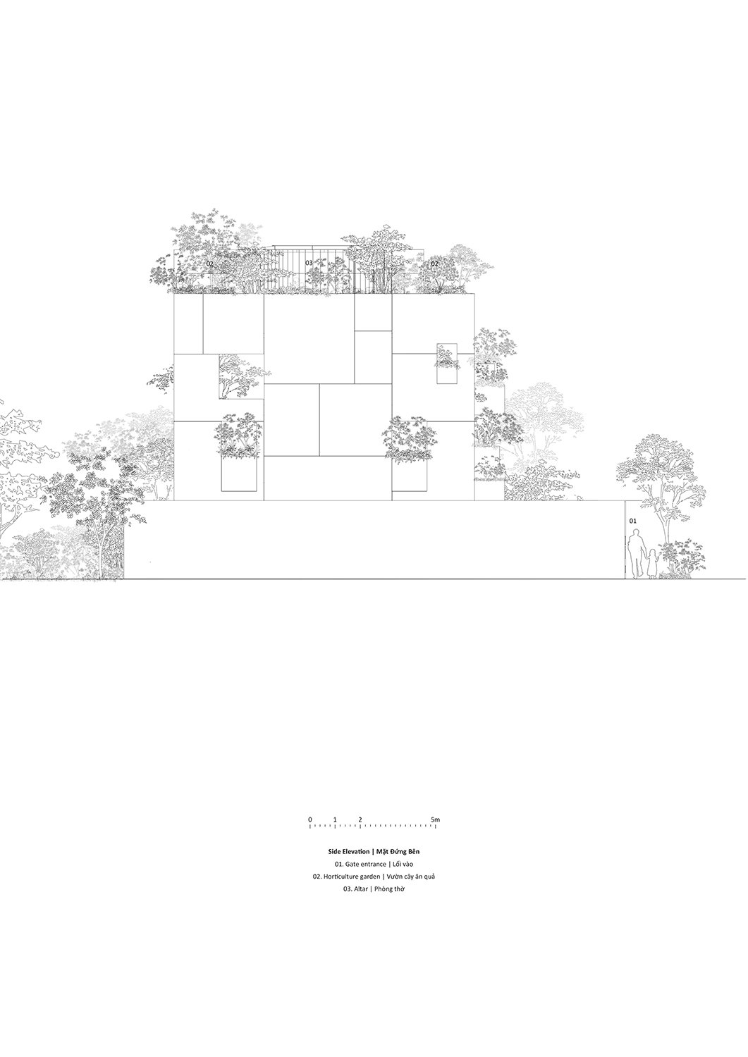 Side elevation Le Thanh Thuong}