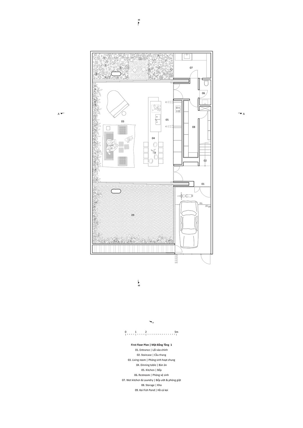 First floor plan Le Thanh Thuong}