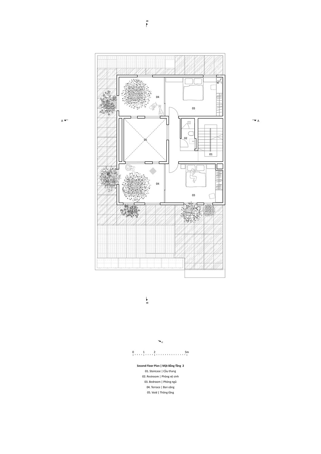 Second floor plan Le Thanh Thuong}