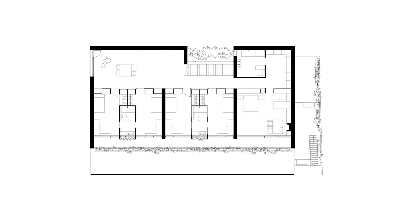 Top Plan Floor Jofre Roca arquitectes}