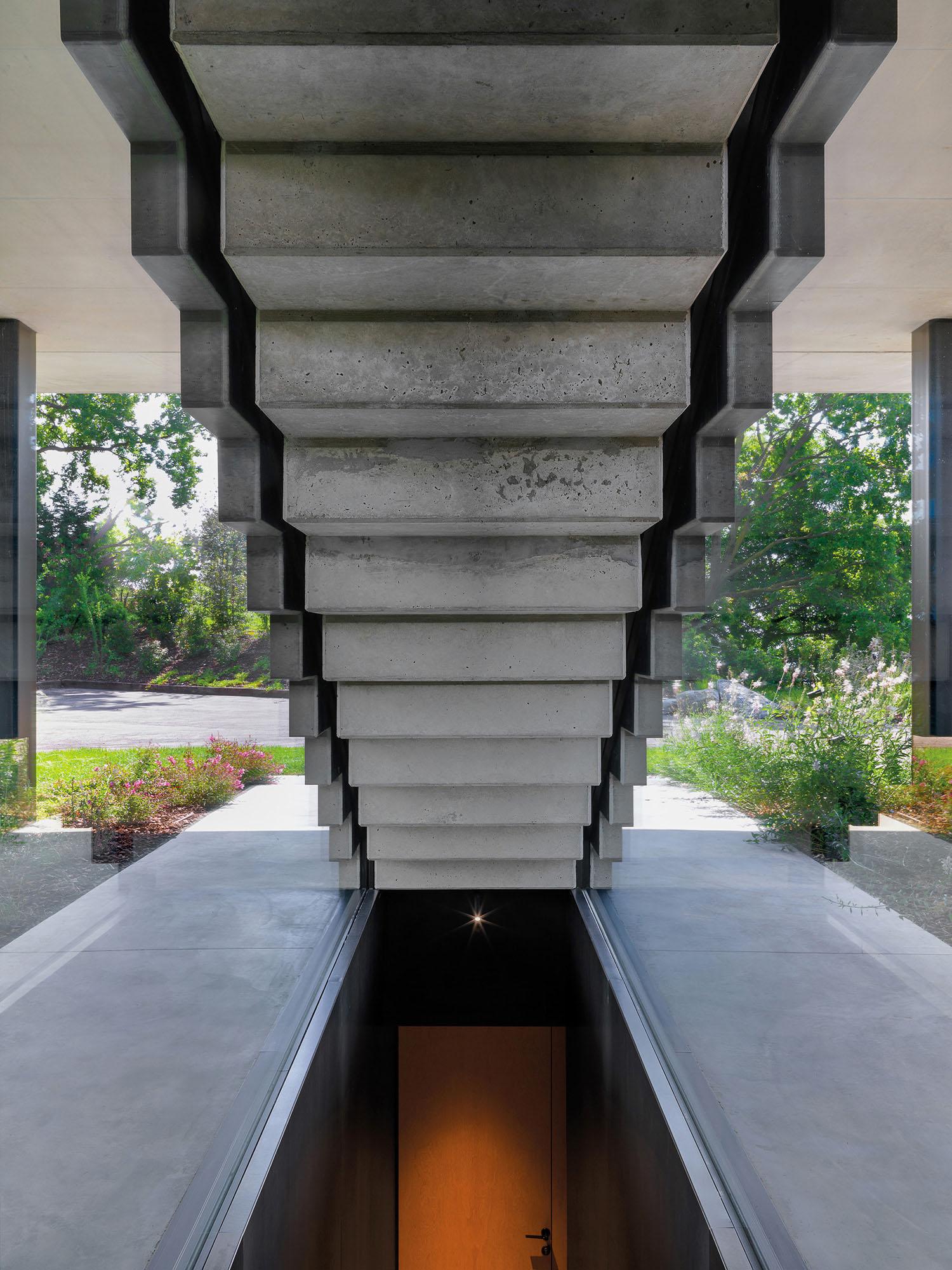 Exterior staircase Matteo Piazza}