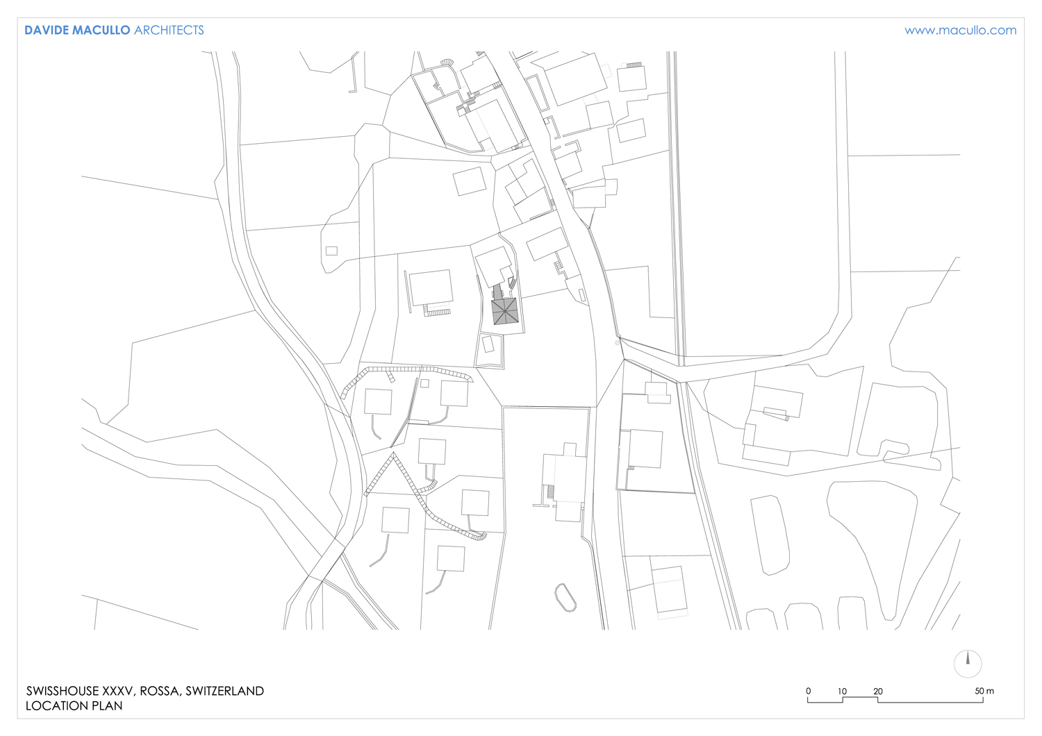 Location plan Davide Macullo Arhcitects}