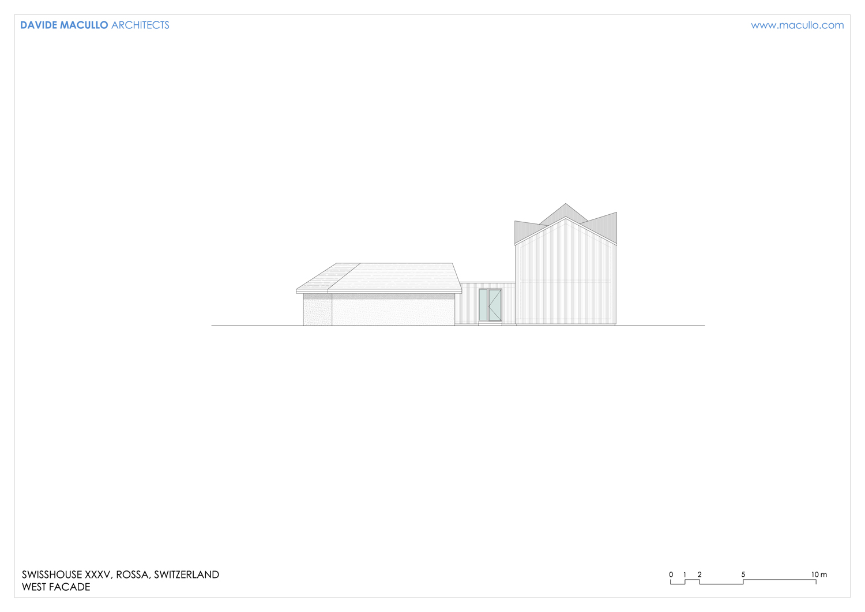 West facade Davide Macullo Arhcitects}