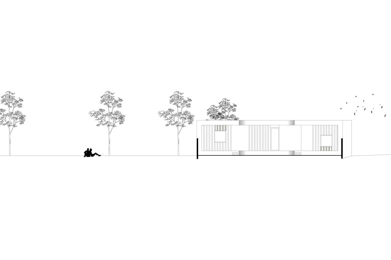 Elevation Garden HEIMSPIEL architektur}