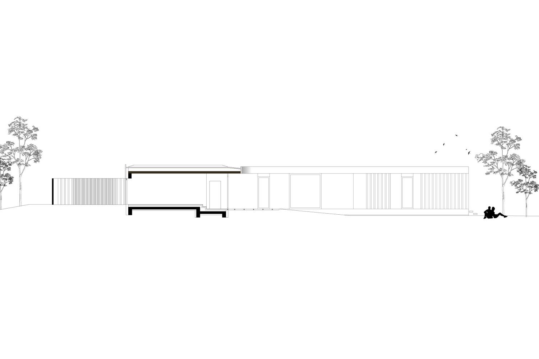 Elevation Long HEIMSPIEL architektur}