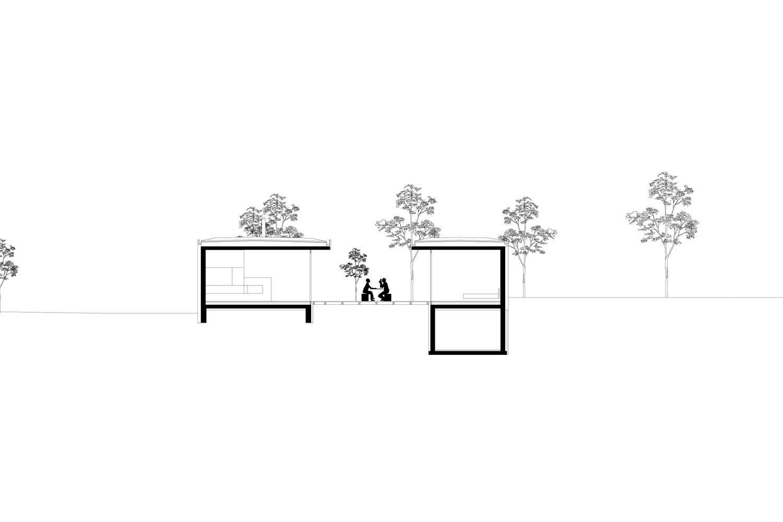 cross section HEIMSPIEL architektur}