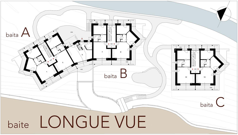 Baite Longue Vue - Piano Terra AB2ER architecture}