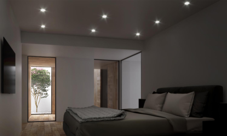 Interno notturno Render by 3ndy Studio
